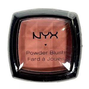 NYX Powder Blush Single, PB02 Dusty Rose NEW